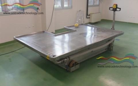 Tavolo Settorio Veterinario per Anatomia Patologica Grandi Animali