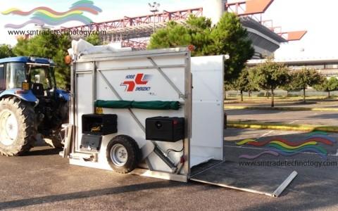 Ambulanza HORSE EMERGENCY per Soccorso Veloce ed Efficace degli Grandi Animali