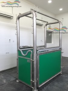 Gynecological and Ultrasound - Stock Padded Box for Horses